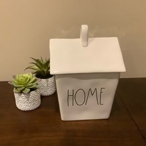 Rae Dunn HOME House Canister Cookie Jar 🏠
